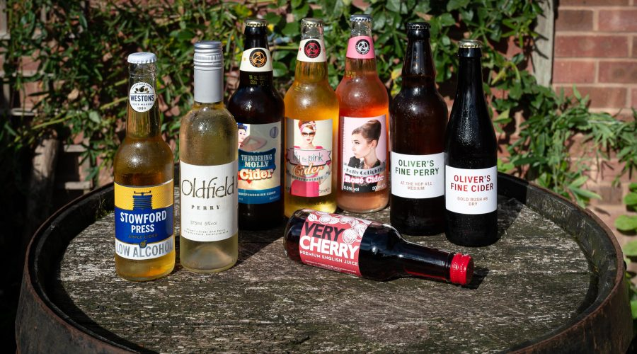 Selection of ciders